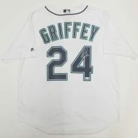 "Ken Griffey Jr. Signed Seattle Mariners Jersey Inscribed ""HOF 16"" (TriStar Hologram) at PristineAuction.com"