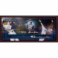 Aaron Judge Signed Yankees 49.5x23.5x3.25 Custom Framed Chandler Game Model Baseball Bat Shadowbox Display (Fanatics) at PristineAuction.com