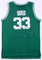 Larry Bird Signed Celtics Jersey (Bird Hologram)