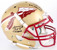 Jameis Winston, Charlie Ward & Chris Weinke Florida State Seminoles Full-Size Authentic On-Helmet with (3) Heisman Inscriptions (Radtke COA) at PristineAuction.com