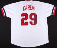 Rod Carew Signed Twins Jersey (JSA COA)