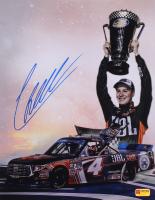 Christopher Bell Signed NASCAR Championship Celebration 11x14 Photo (PA COA) at PristineAuction.com