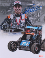 Christopher Bell Signed USAC Midget 11x14 Photo (PA COA) at PristineAuction.com
