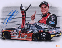 Christopher Bell Signed 2017 Kansas Win 11x14 Photo (PA COA) at PristineAuction.com