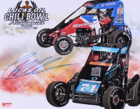 Christopher Bell Signed Chili Bowl Nationals 11x14 Photo (PA COA)
