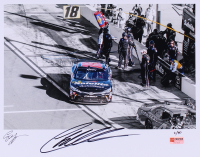 Christopher Bell Signed Limited Edition NASCAR 11x14 Photo #/40 (PA COA)