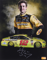 Ryan Blaney Signed 2018 NASCAR 11x14 Photo (PA COA) at PristineAuction.com