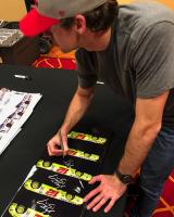 Ryan Blaney Signed 2018 NASCAR 11x14 Photo (PA COA) at PristineAuction.com