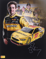 Ryan Blaney Signed 2018 NASCAR 11x14 Photo (PA COA)