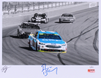 Ryan Blaney Signed Limited Edition NASCAR 11x14 Photo #/21 (PA COA) at PristineAuction.com
