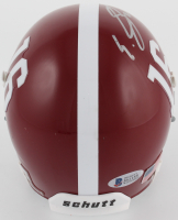 Eddie Jackson Signed Alabama Crimson Tide Mini Helmet (Beckett COA) at PristineAuction.com
