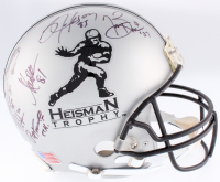 Heisman Trophy Full-Size Authentic On-Field Helmet Signed & Inscribed by (21) winners with Bo Jackson, Jameis Winston, Marcus Allen, Marcus Mariota, Tim Brown (JSA COA & Player Holograms)