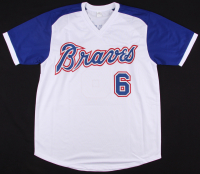 Davey Johnson Signed Braves Jersey (JSA COA) at PristineAuction.com