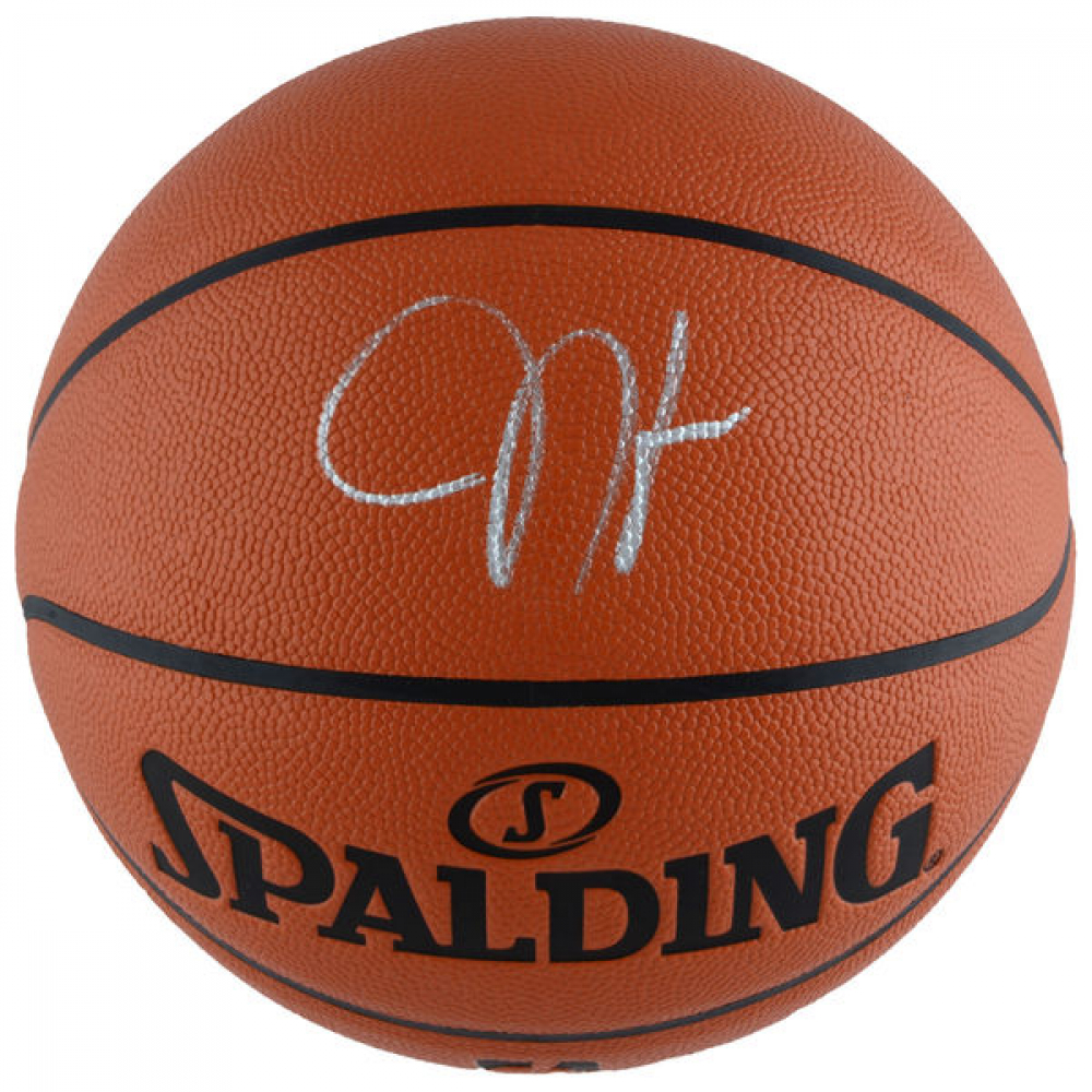 James Harden Signed Spalding Basketball (Fanatics) at PristineAuction.com