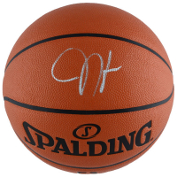 James Harden Signed Spalding Basketball (Fanatics) at PristineAuction.com