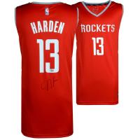James Harden Signed Rockets Nike Jersey (Fanatics Hologram) at PristineAuction.com