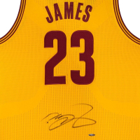 LeBron James Signed Cavaliers Jersey (UDA COA) at PristineAuction.com