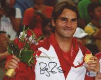 Roger Federer Signed 8x10 Photo (Beckett COA)