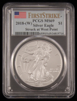 2018 $1 American Silver Eagle Coin - First Strike (PCGS MS69) at PristineAuction.com