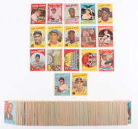 1959 Topps Complete Set of (572) Baseball Cards with #10 Mickey Mantle, #202 Roger Maris, #380 Hank Aaron, #478 Roberto Clemente, #563 Willie Mays All-Star
