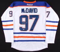 Connor McDavid Signed Oilers Jersey (Beckett COA)