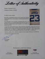 Michael Jordan Signed North Carolina Tar Heels 35x43 Custom Framed Jersey (PSA LOA) at PristineAuction.com
