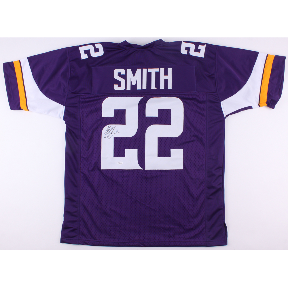 Harrison Smith Signed Vikings Jersey (JSA COA). JSA Witnessed 125c221cf
