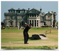 """Tiger Woods Signed """"2000 British Open"""" 20x24 Photo (UDA COA)"""