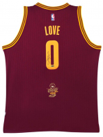 Kevin Love Signed 2016 NBA Champion Logo Cleveland Cavaliers Jersey (UDA COA) at PristineAuction.com