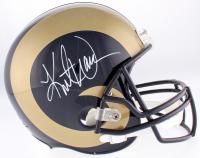 Kurt Warner Signed Rams Full-Size Helmet (Warner Hologram) at PristineAuction.com