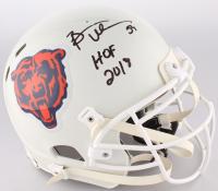 "Brian Urlacher Signed Bears Full-Size Authentic On-Field Helmet Inscribed ""HOF 2018"" (JSA COA)"