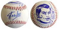Stan Lee & Michael Golden Signed OML Baseball with Hand-Drawn Sketch of Rouge Lee (JSA COA)