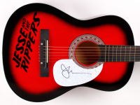 """John Stamos Signed """"Jesse And The Rippers"""" Full-Size Acoustic Guitar (JSA COA)"""