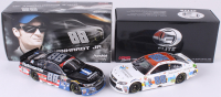 Lot of (2) Dale Earnhardt Jr. LE 1:24 Scale Die Cast Cars with (1) #88 Nationwide Insurance Salutes 2015 SS (1) Signed #88 Nationwide Children's 2017 SS Elite (RCCA COA)