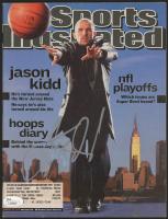 Jason Kidd Signed 2002 Sports Illustrated Magazine (JSA COA) at PristineAuction.com