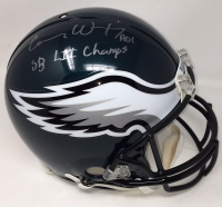 "Carson Wentz Signed Eagles Full-Size Authentic On-Field Helmet Inscribed ""SB LII Champs"" (Fanatics Hologram) at PristineAuction.com"