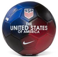 Christian Pulisic Signed Nike USA Prestige Soccer Ball (Panini COA) at PristineAuction.com