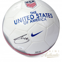 Christian Pulisic Signed Nike USA Soccer Ball (Panini COA)