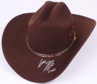 "Chandler Riggs Signed ""The Walking Dead"" Carl Grimes Sheriff Hat Prop (Radke COA)"