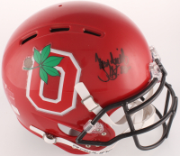 """Troy Smith Signed Ohio State Buckeyes Full-Size Authentic On-Field Speed Helmet Inscribed """"H.T. 06"""" (JSA COA)"""