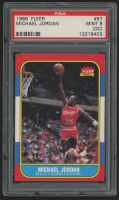 1986-87 Fleer #57 Michael Jordan RC (PSA 9) (OC)