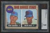1968 Topps #177 Rookie Stars / Jerry Koosman RC / Nolan Ryan RC (BVG 9)