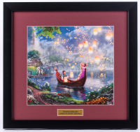 "Thomas Kinkade ""Tangled"" 17x18 Custom Framed Print"