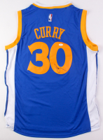 Stephen Curry Signed Warriors Jersey (JSA LOA)