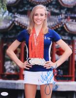 "Nastia Liukin Signed 11x14 Photo Inscribed ""2008 Gold"" (JSA COA)"