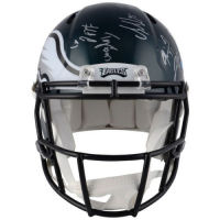 2017 Philadelphia Eagles Super Bowl LII Authentic On-Field Full-Size Speed Helmet Team-Signed by (20) with Nick Foles, Fletcher Cox, Carson Wentz, Jay Ajayi with Multiple Inscriptions (Fanatics Hologram) at PristineAuction.com