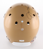 "Joe Montana Signed Notre Dame Fighting Irish Full-Size Helmet Inscribed ""Go Irish!"" (Radtke Hologram) at PristineAuction.com"