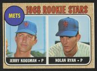 1968 Topps #177 Rookie Stars/Jerry Koosman RC / Nolan Ryan RC
