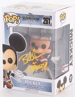 Bret Iwan Signed & Inscribed Mickey Mouse Kingdom Hearts Disney #261 Funko Pop! Vinyl Figure (PA COA)