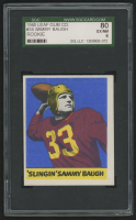 1948 Leaf #34A Sammy Baugh RC (SGC 6)